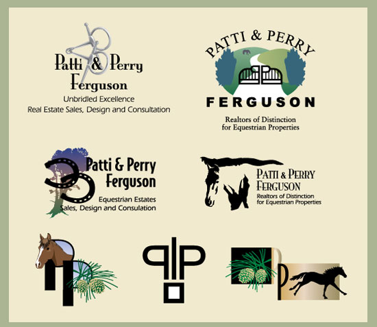 Patti & Perry Ferguson Logo Exploration