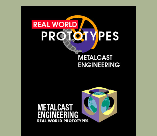 MetalCast Engineering Logo Design