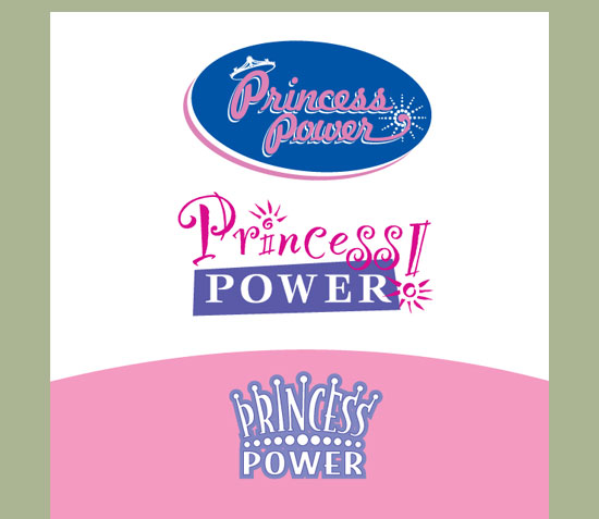 Princess Power Logo Design